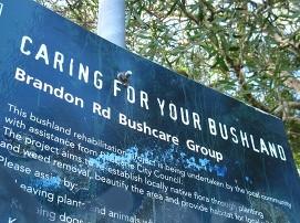 Brandon Rd Bushcare Group