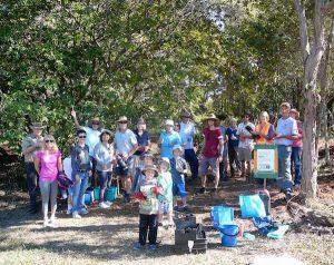 community planting day