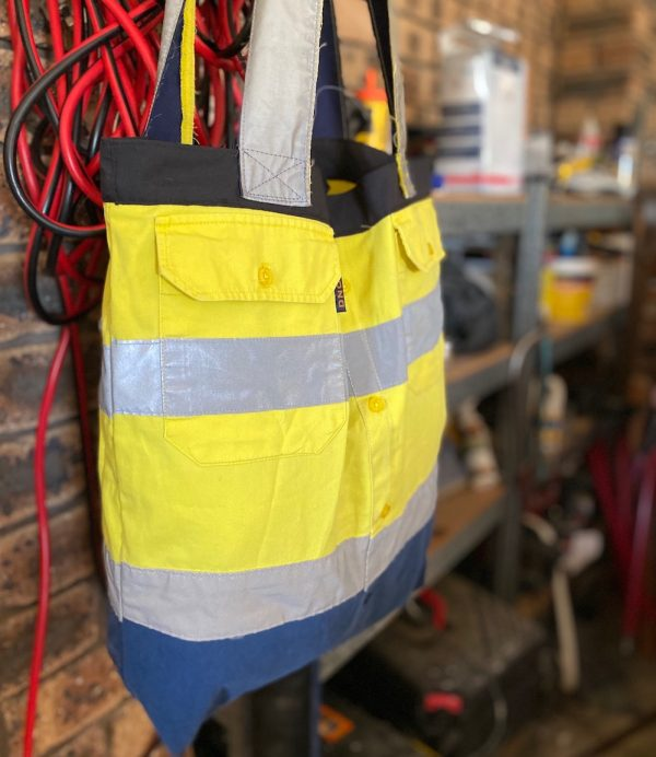 Tradie bags - upcyled from workwear