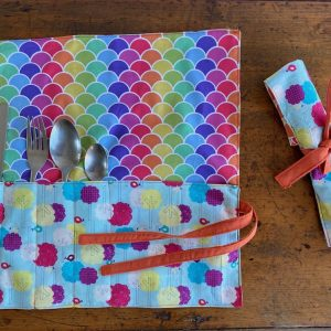 colourful cutlery wraps - buy online - Brisbane