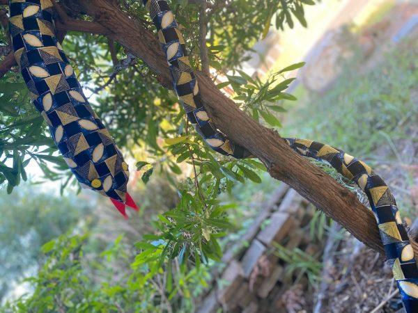 fabric snake, Brisbane