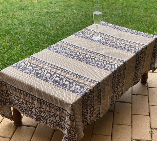 Spell Designs - tablecloth for coffee table