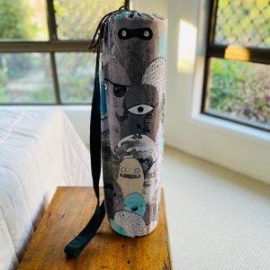 yoga mat bag - upcycled, Brisbane